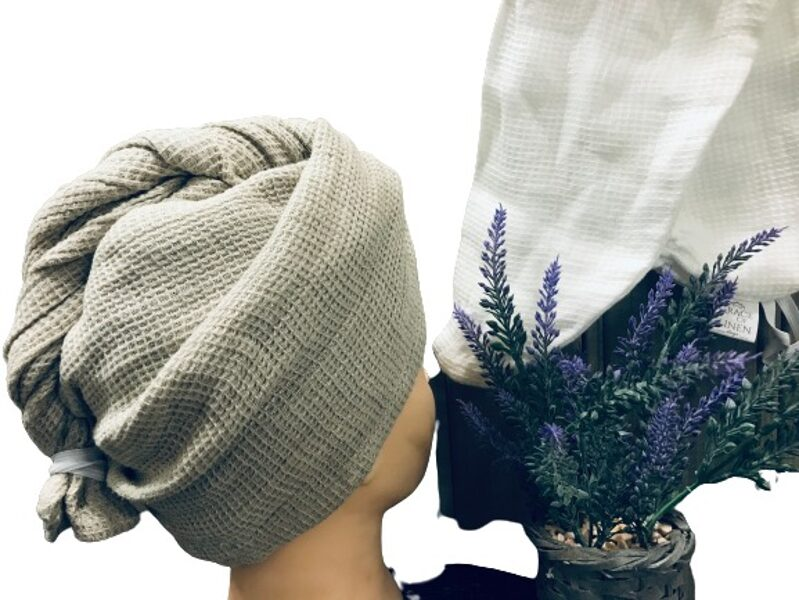 lina matu dvielis dabīgi lina krāsa 70cm